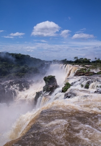 Argentinian side of Foz de Iguazu