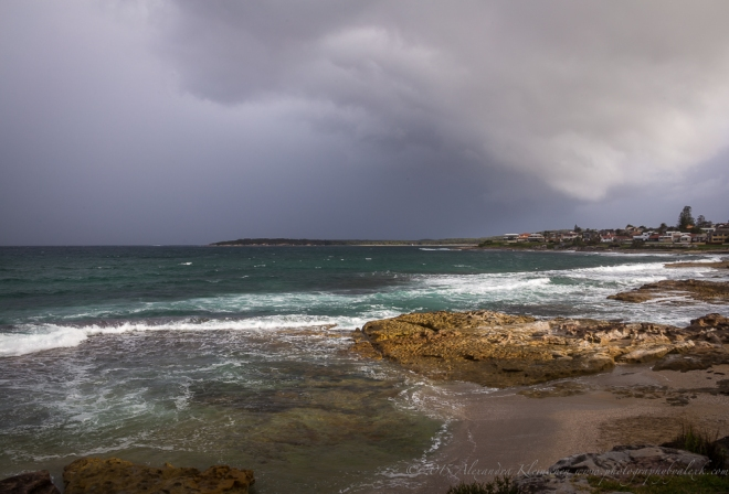 Storm in Cronulla, Sydney