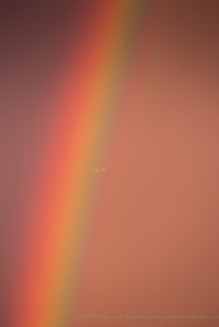 the airplane and the rainbow