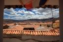 view over Cusco from 'La Caverne del Oriente'
