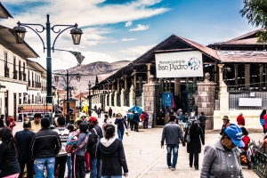San Pedro mercado - the local market in Cusco