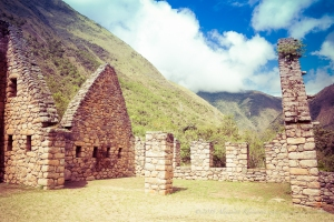 Here is where the one day hike to Machu Picchu starts