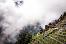 sunrise Machu Picchu