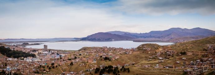 panorama of Puno