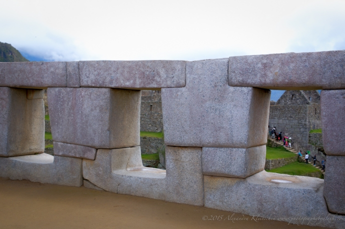 the three window temple at Machu Picchu