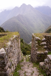 A photo from Winay Wayna after an exhausting climb, not long to go until Machu Picchu is reached.