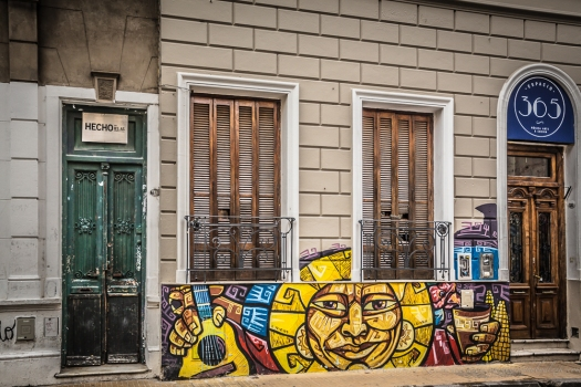 street art in Buenos Aires