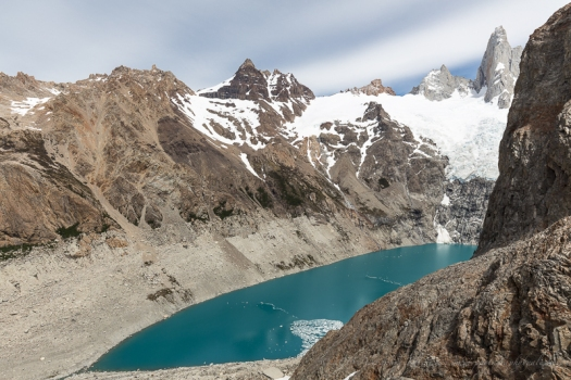 Lagoon in Fitz Roy NP, Patagonia