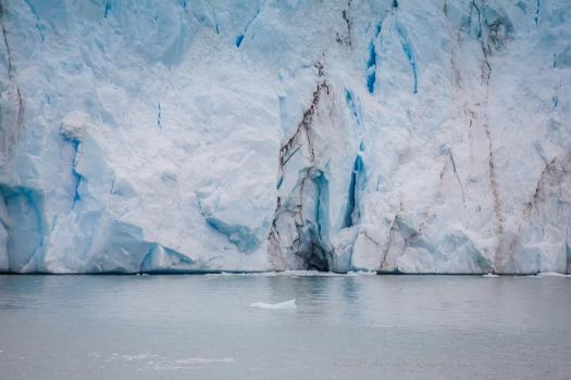 massive ice mass from Perito Moreno Glacier